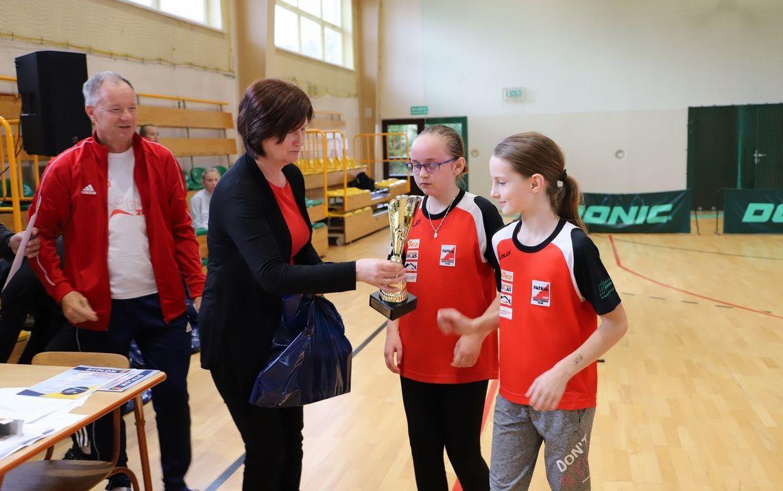 Mistrzostwa Gminy Limanowa w Tenisie Stołowym Dziewcząt i Chłopców - zdjęcie główne
