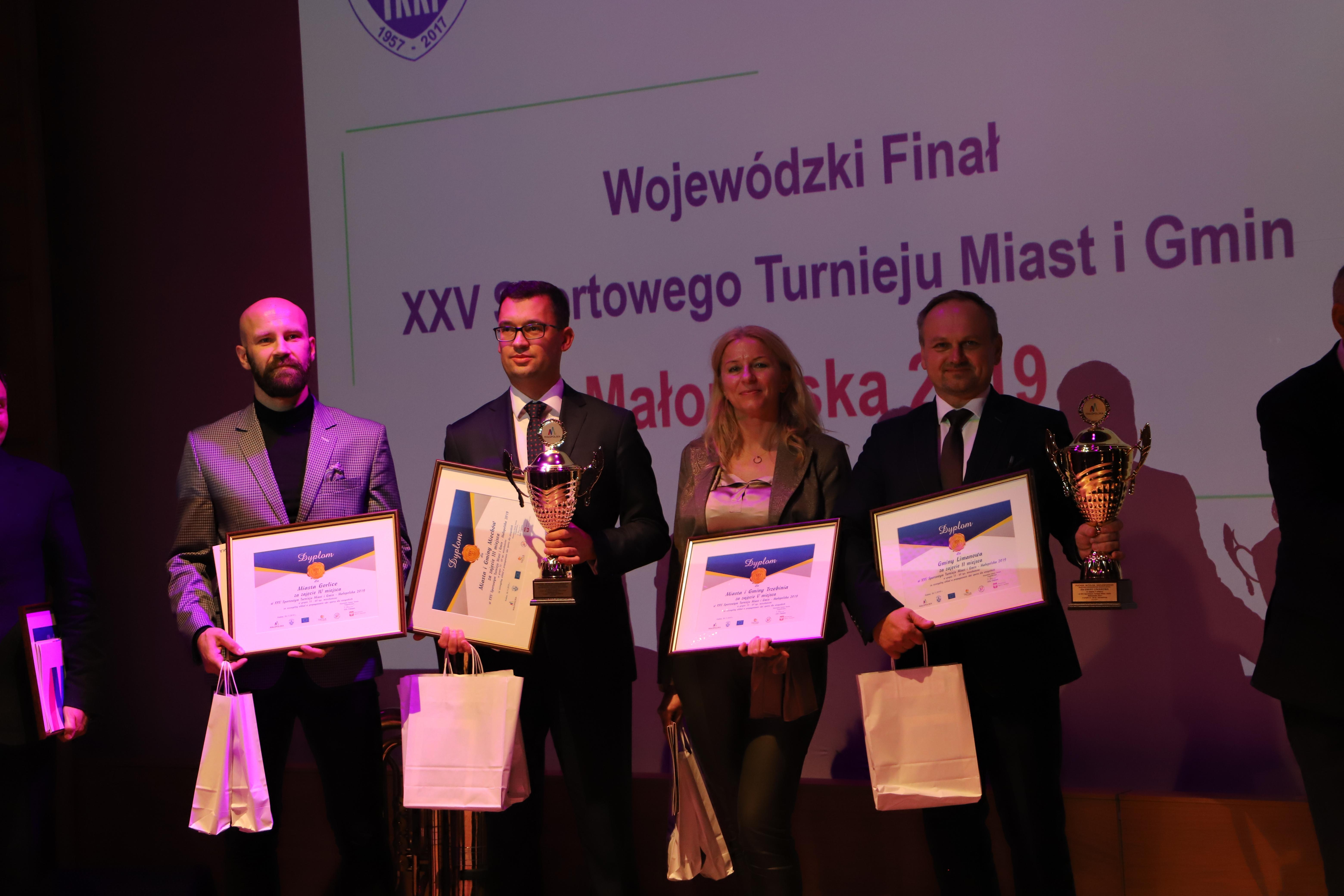Gmina Limanowa na podium ogólnopolskiego turnieju - zdjęcie główne