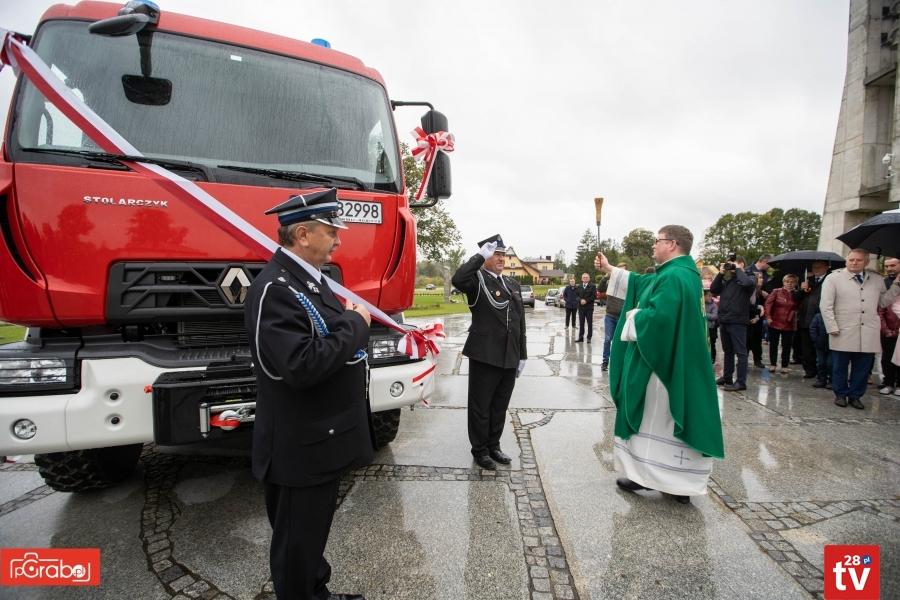 OSP Męcina ma nowy wóz strażacki - zdjęcie główne